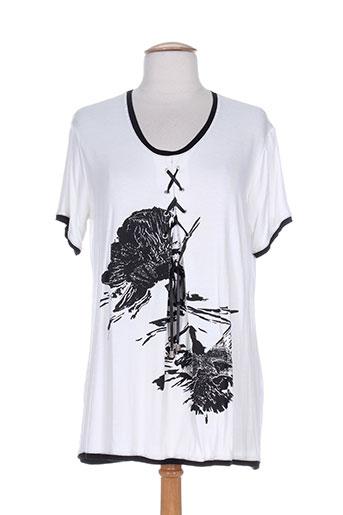 T-shirt manches courtes blanc JEAN DELFIN pour enfant