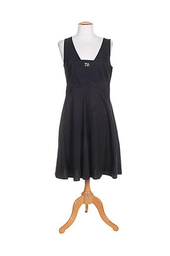 bleu d'azur robes femme de couleur noir