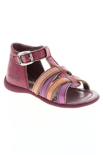 mod8 chaussures fille de couleur rose