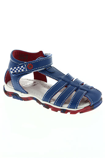 little mary chaussures garçon de couleur bleu