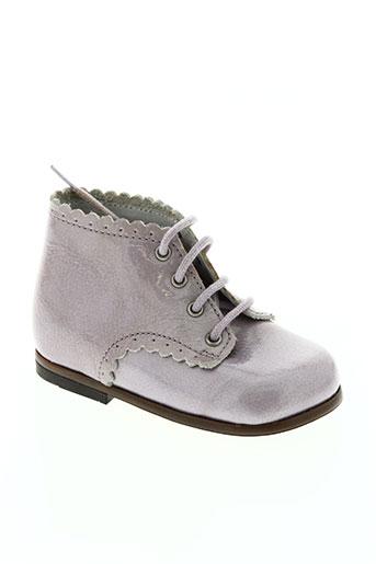 little marcel chaussures fille de couleur violet