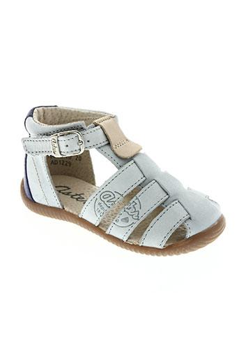 aster chaussures garçon de couleur gris