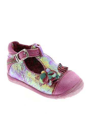 catimini chaussures fille de couleur rose