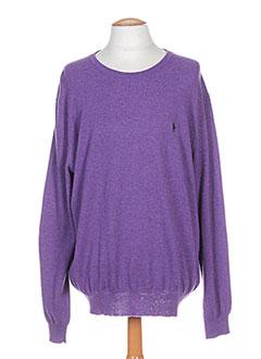 608a7f92d2b Vêtements Homme De Marque RALPH LAUREN De Couleur Violet En Soldes ...