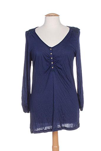 mexx tuniques femme de couleur bleu