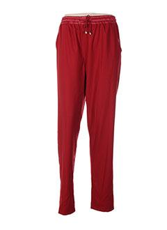 Pantalon casual rouge ABSOLU pour femme