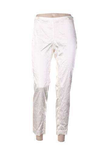 Pantalon 7/8 blanc ABSOLU pour femme