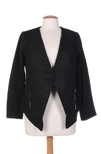 Veste chic / Blazer noir MISS CAPTAIN pour femme