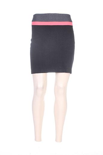 Jupe courte noir MISS CAPTAIN pour femme