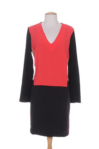 Robe courte rouge MISS CAPTAIN pour femme