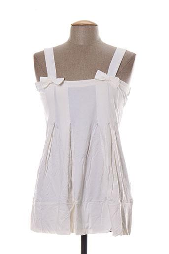 apart chemises femme de couleur blanc