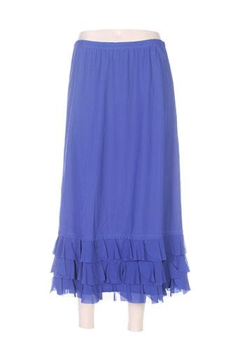 deca jupes femme de couleur bleu