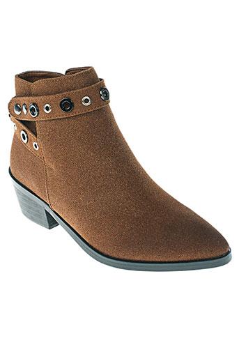 parfois chaussures femme de couleur marron