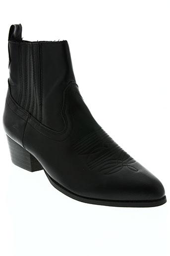 parfois chaussures femme de couleur noir