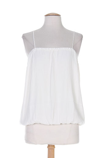 ba&sh chemises femme de couleur blanc