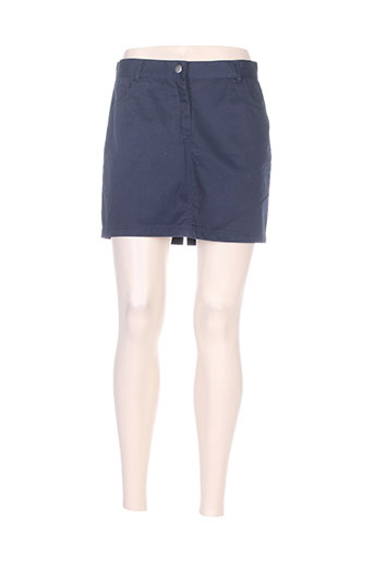 elegance oceane jupes femme de couleur bleu