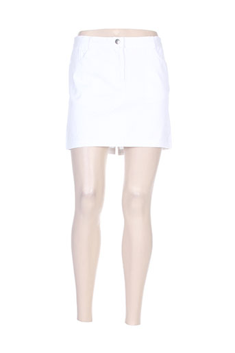 elegance oceane jupes femme de couleur blanc