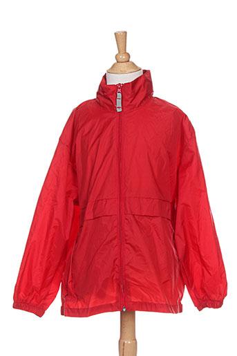 sol's manteaux garçon de couleur rouge