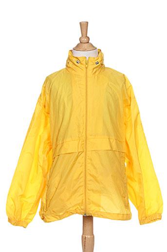sol's manteaux garçon de couleur jaune