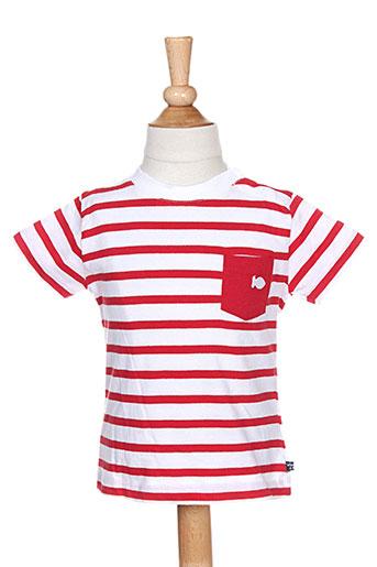 week end a la mer t-shirts garçon de couleur rouge