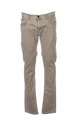 Pantalon casual beige KILIWATCH pour femme
