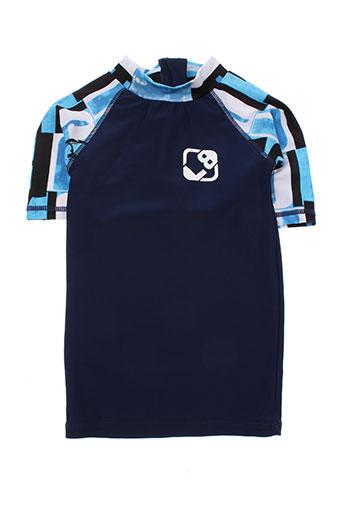 lagon bleu t-shirts garçon de couleur bleu