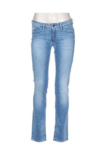 kaporal jeans fille de couleur bleu