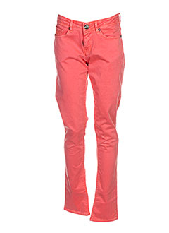 Pantalon casual orange KAPORAL pour fille