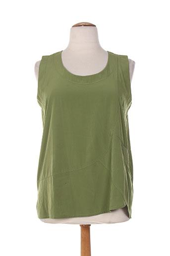 niederberger chemises femme de couleur vert