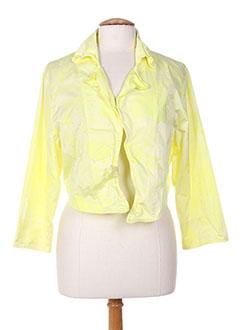 Veste casual jaune OLIVER JUNG pour femme