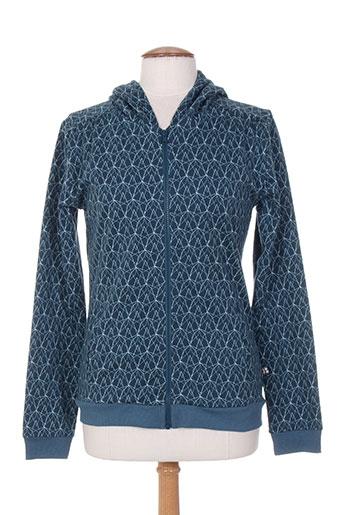froy & dind vestes femme de couleur bleu