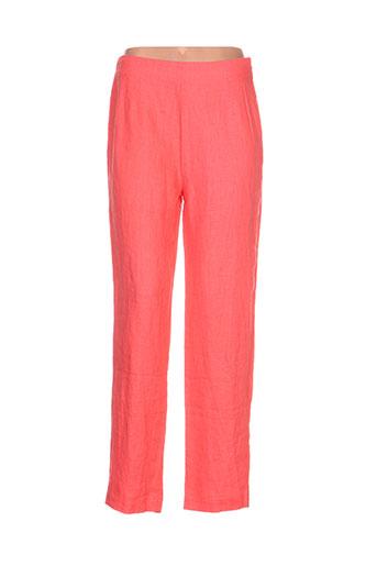 kokomarina pantalons femme de couleur orange