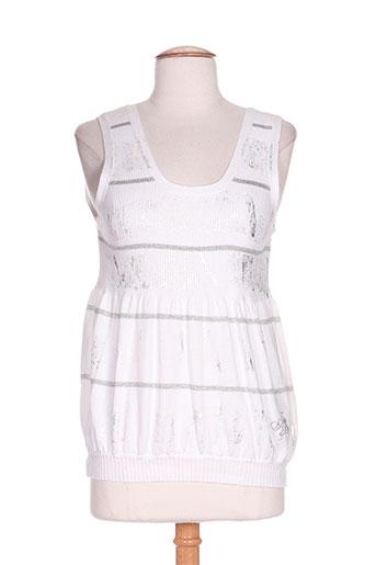 anna biagini chemises femme de couleur blanc