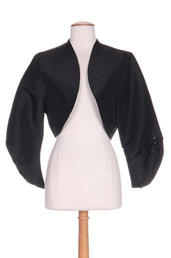 creatif paris vestes femme de couleur noir