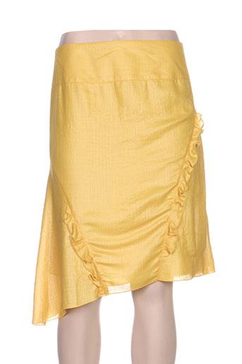 quattro jupes femme de couleur jaune