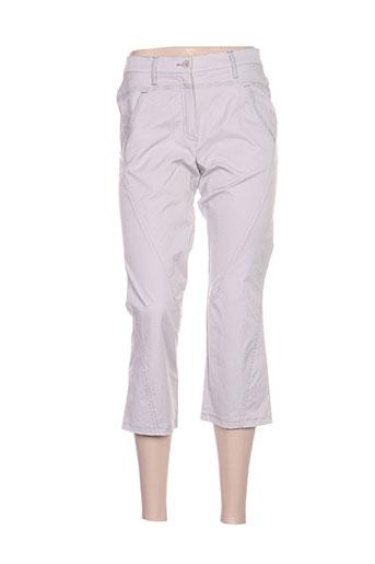quattro pantacourts femme de couleur gris