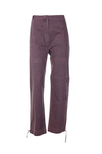 quattro pantalons femme de couleur violet