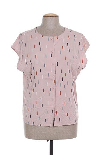 zilch chemises femme de couleur rose
