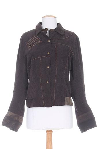 motys collection vestes femme de couleur marron
