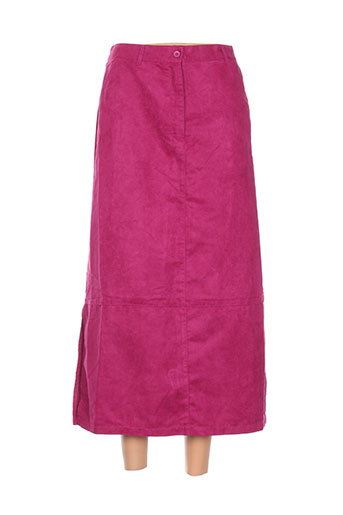 gerard matel jupes femme de couleur rose