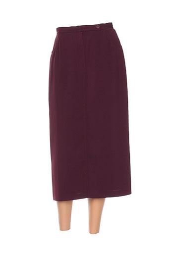 Jupe longue violet CAROLE RICHARD pour femme
