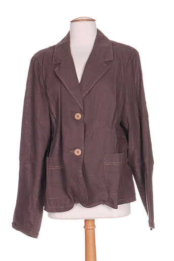 Veste casual marron VETO pour femme