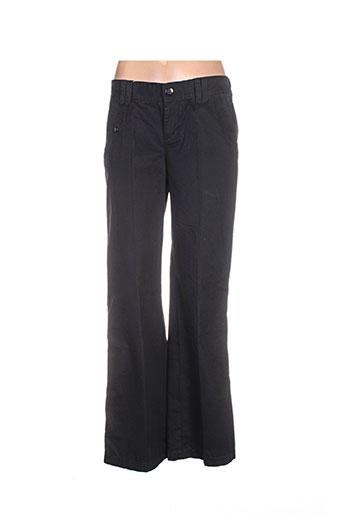 esprit pantalons femme de couleur noir