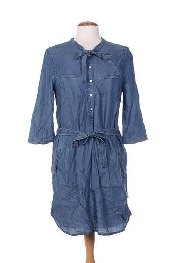 aaiko robes femme de couleur bleu