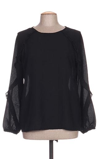 b.young chemises femme de couleur noir