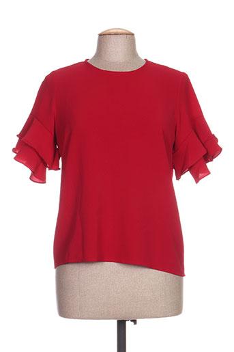 scarlet roos chemises femme de couleur rouge