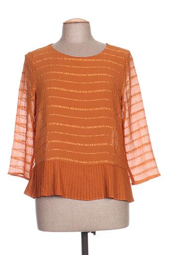 la p'tite etoile chemises femme de couleur orange