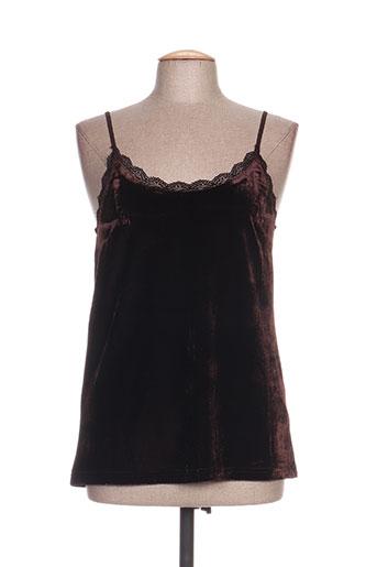 ichi chemises femme de couleur marron