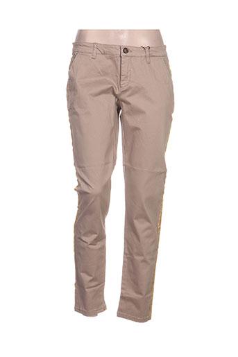 only pantalons femme de couleur beige