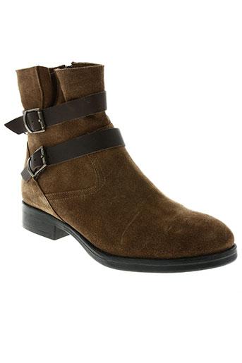 lune & l'autre chaussures femme de couleur marron